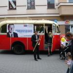 Autosalon na ulici v Šumperku