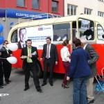 Předvolební akce na jarmarku v Zábřeze