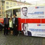 Kampaň v Olomouci se Stanislavem Polčákem